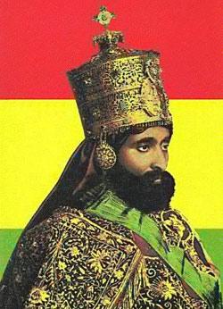 Рас Тафари Маконнен, император Эфиопии Хайле Селассие I