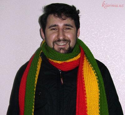 Растаманский шарфик