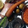 Продукты на чечевичный суп