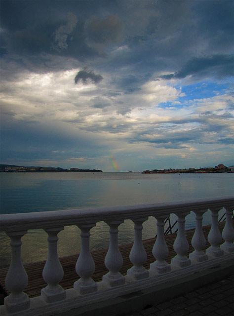 Радуга море Геленджик