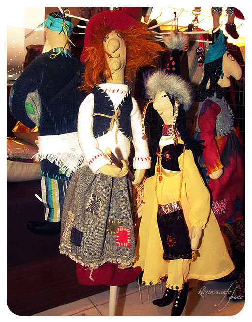 узбекские национальные куклы ручная работа