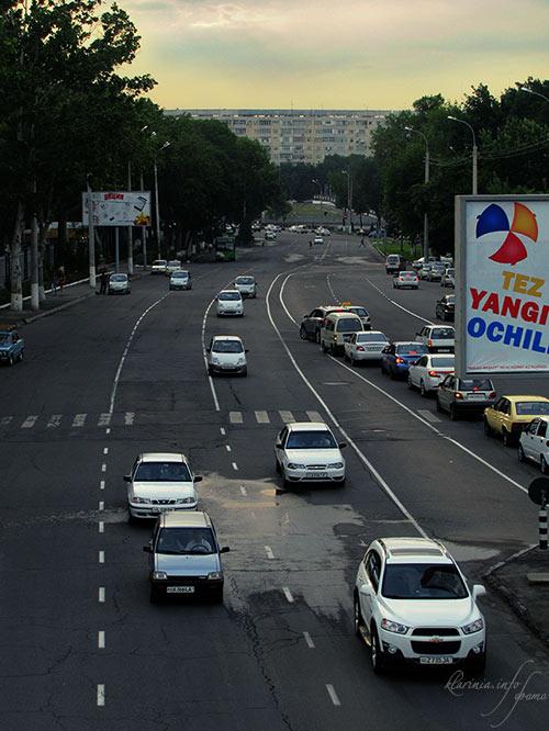 Ташкент удачи на дорогах