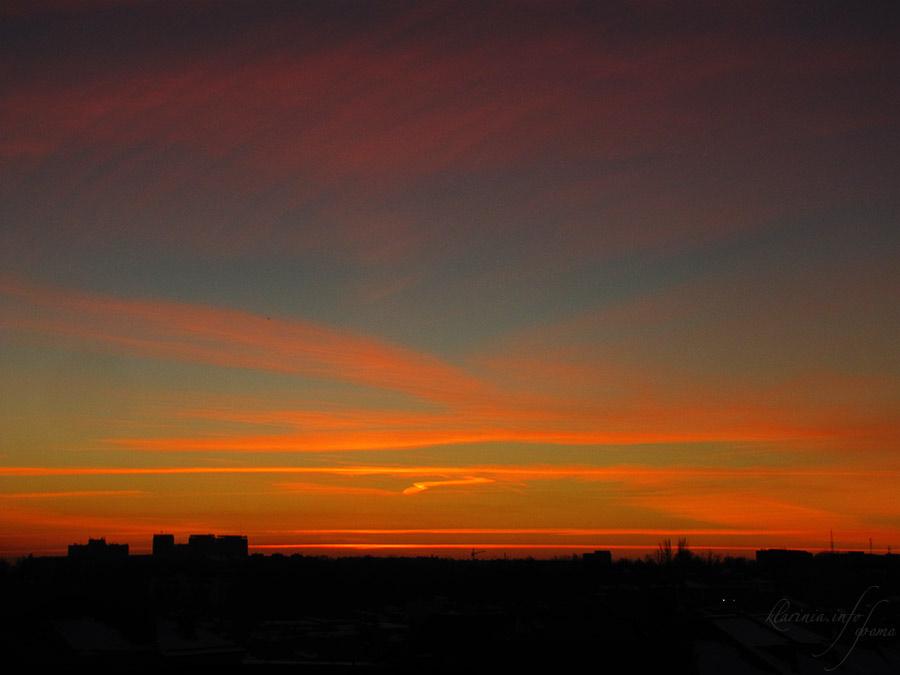 Ташкент, закат