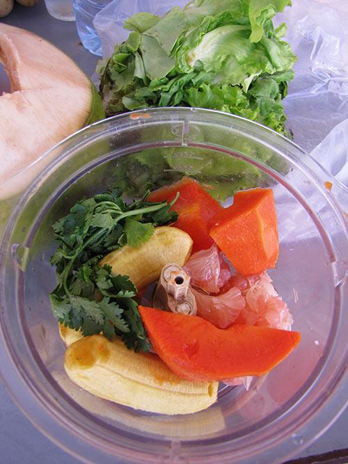 Тайланд овощи, зелень