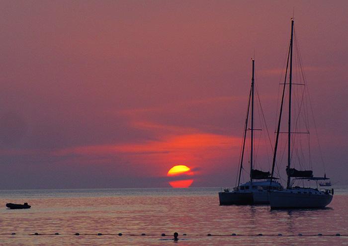 Таиланд, закат