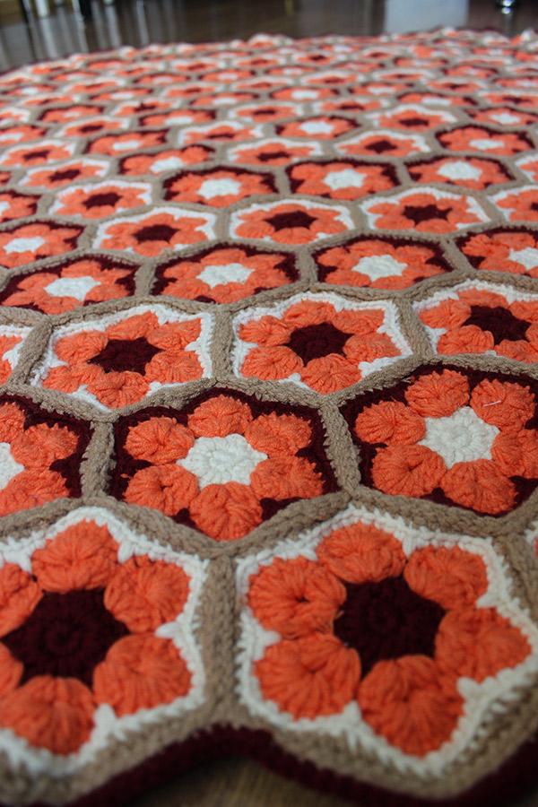 Связать крючком ковер цзор африканские цветы