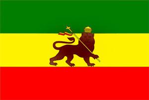 Флаг растафариан