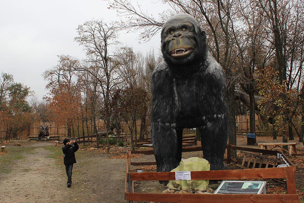 Парк Динозавров в Волгограде